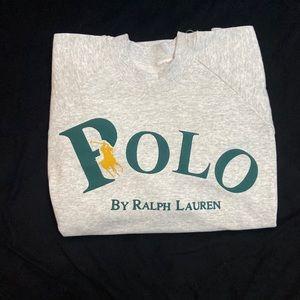 Polo crew neck
